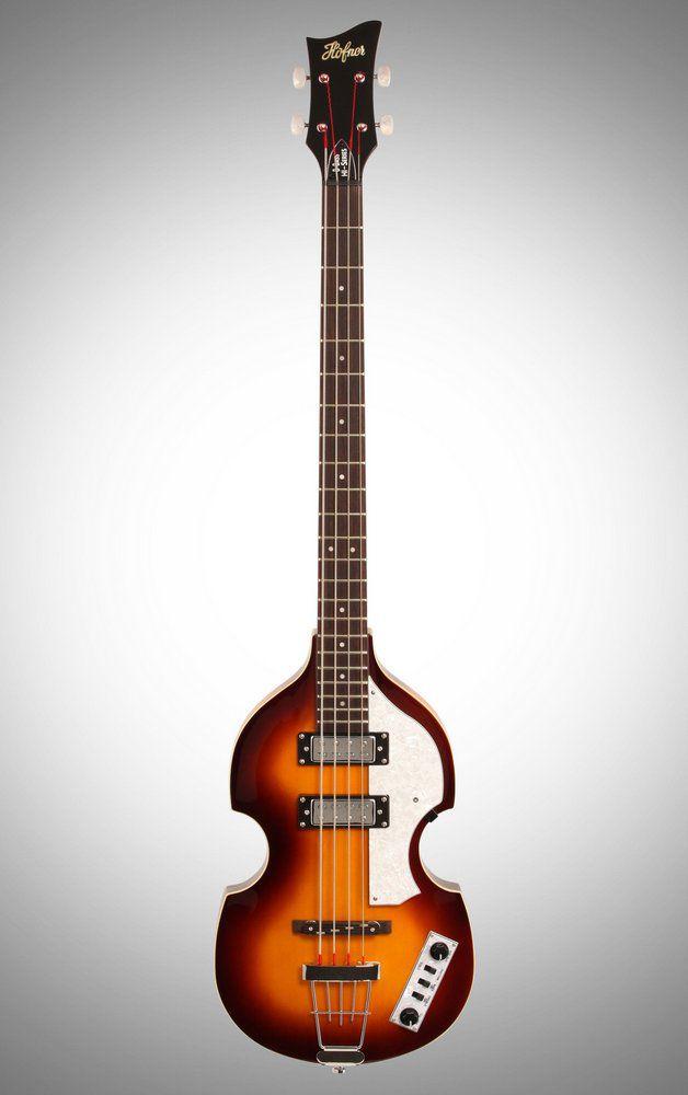 Contrabaixo 4 Cordas Hofner Ignition Violin Bass Cavern HICA Sunburst