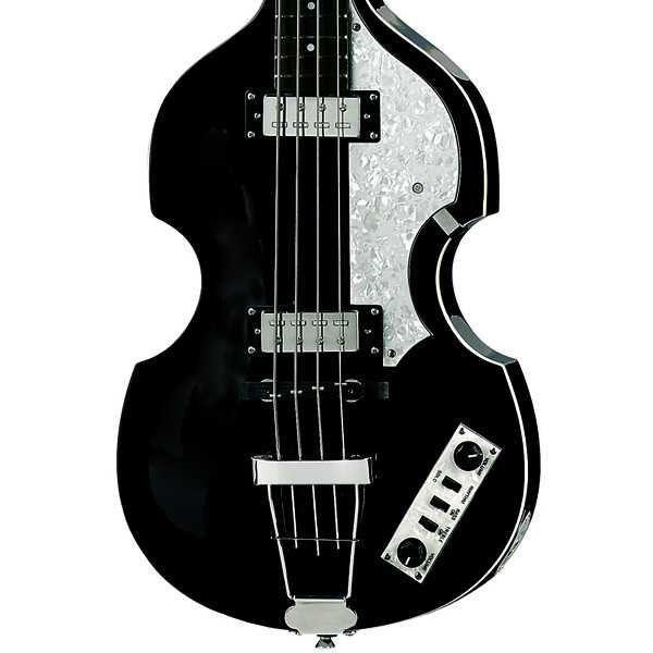 Contrabaixo 4 Cordas Hofner Ignition Violin Bass HIBB Black