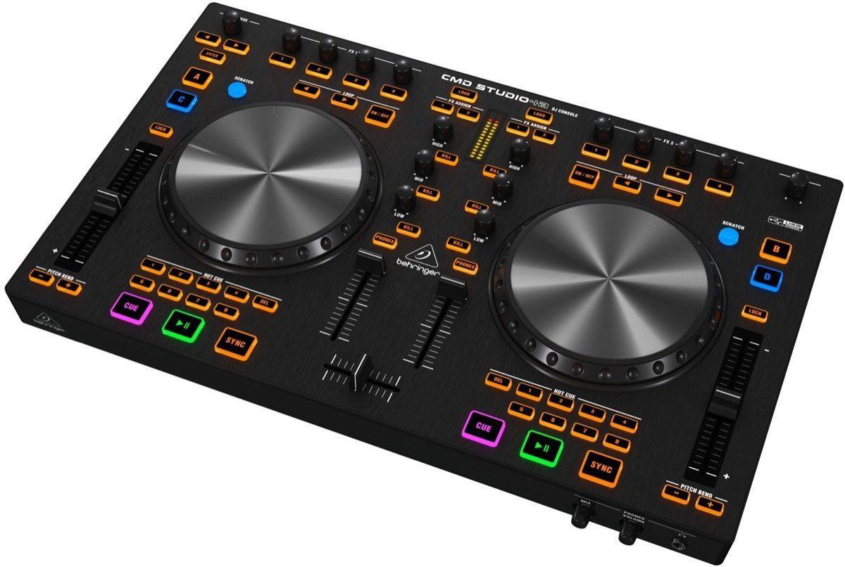 Controlador Behringer CMD Studio 4A DJ USB