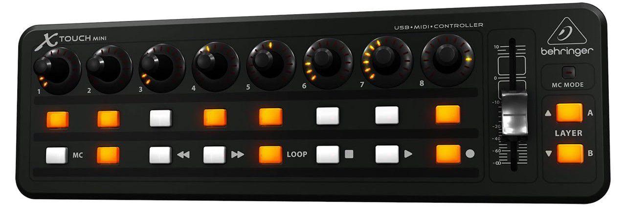 Controlador Behringer X-Touch Mini USB