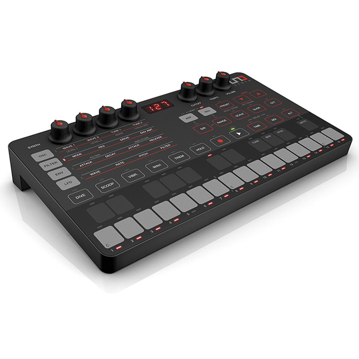 Controlador IK Multimedia Uno Synth Analog Synthesizer