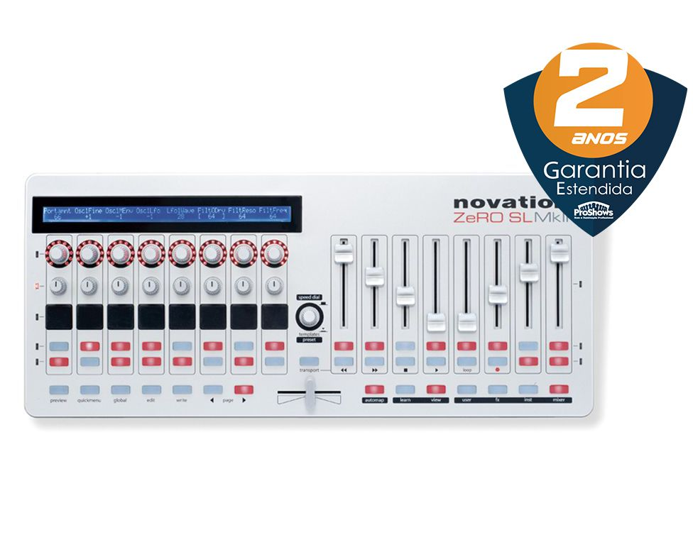 Controlador Novation Zero SL MKII