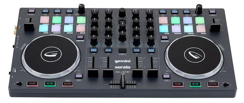 Controladora Dj Gemini Slate 4 USB 4 Canais