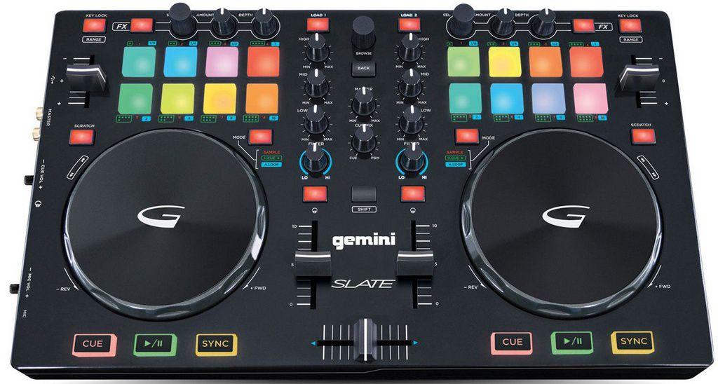 Controladora DJ Gemini Slate USB 2 Canais