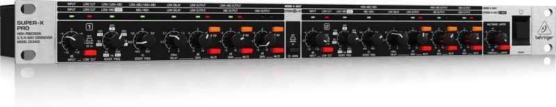 Crossover Behringer Super-x Pro Cx3400