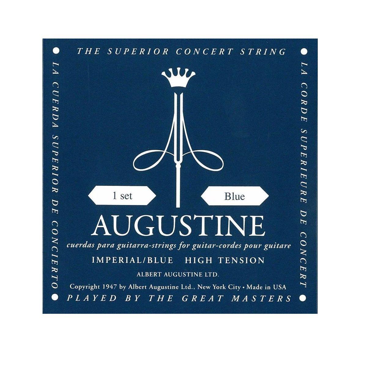Encordoamento Augustine Imperial/blue Tensão Alta Nylon