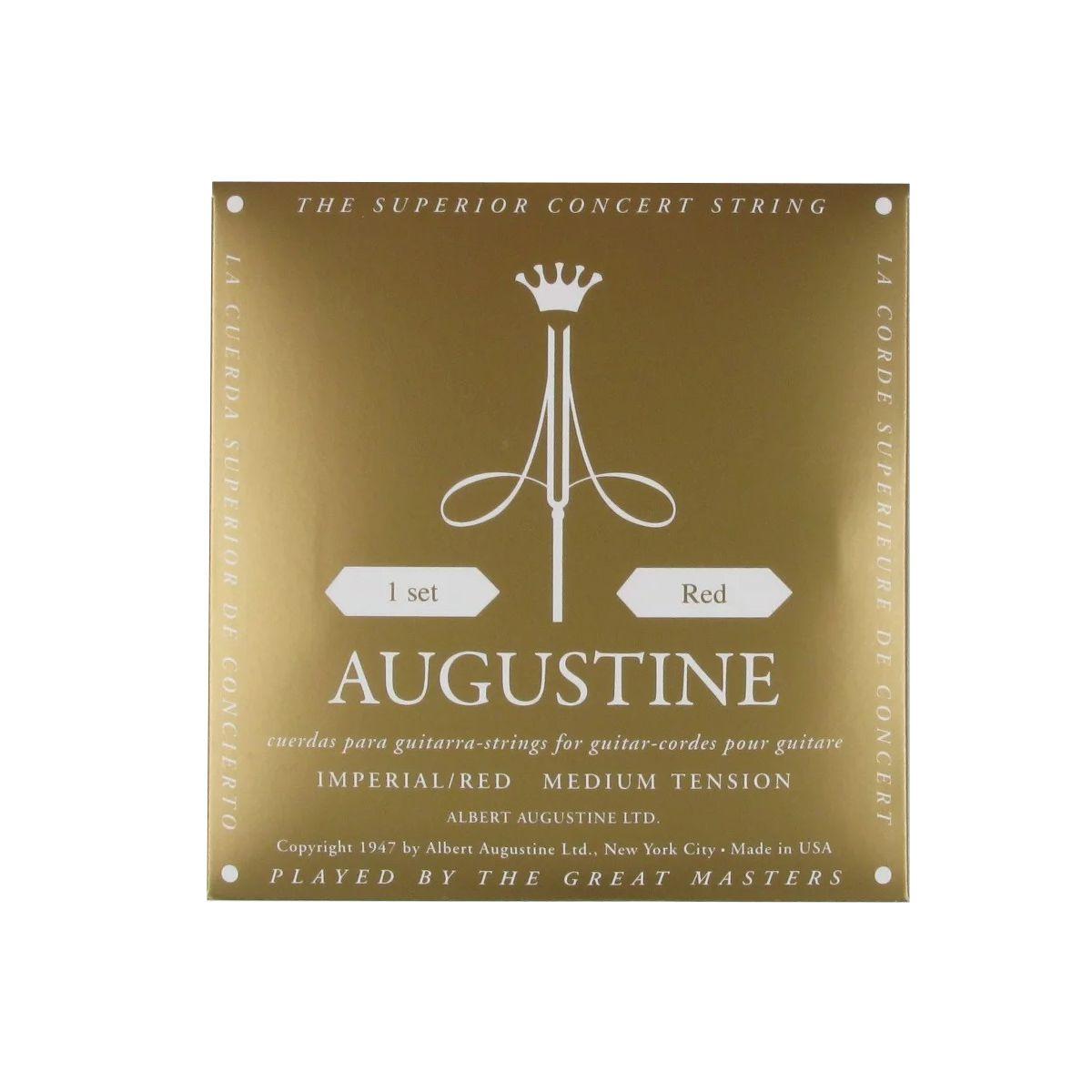 Encordoamento Augustine Imperial Red Tensão Média Nylon