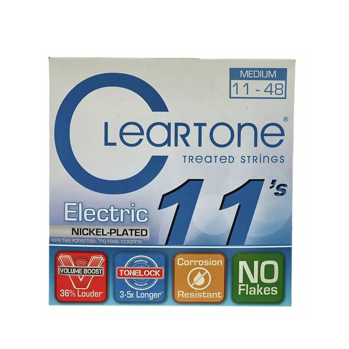 Encordoamento Cleartone 9411 Electric .011/.48 Guitarra
