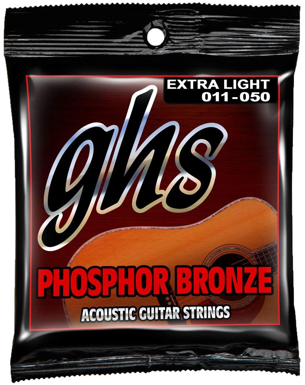 Encordoamento GHS S315 Phosphor Bronze .011 /.050 para Violão