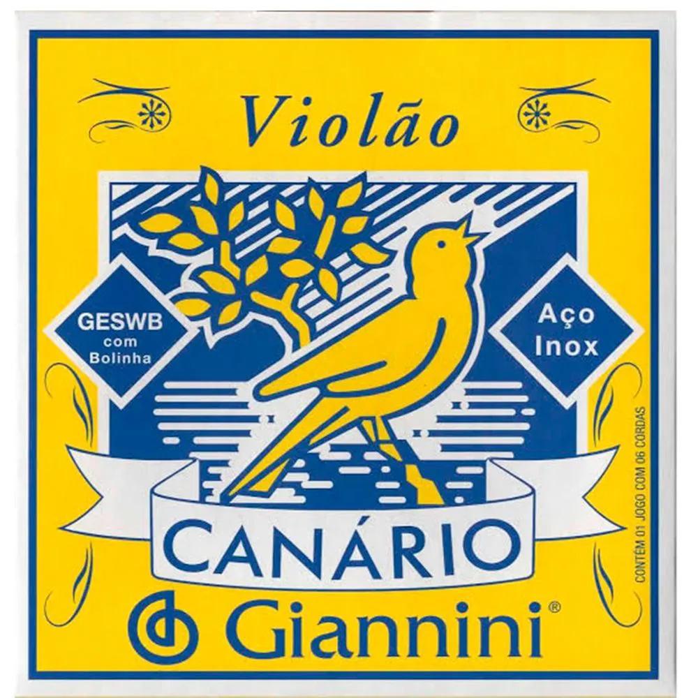 Encordoamento Giannini GESWB .011/.045 para Violão Aço