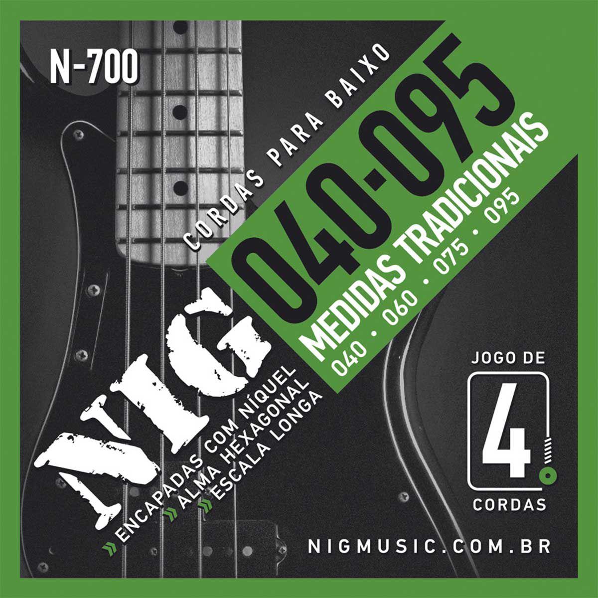 Encordoamento Nig N-700 040/095 para Contrabaixo 4C