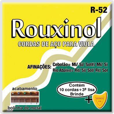 Encordoamento Rouxinol R-52 .010