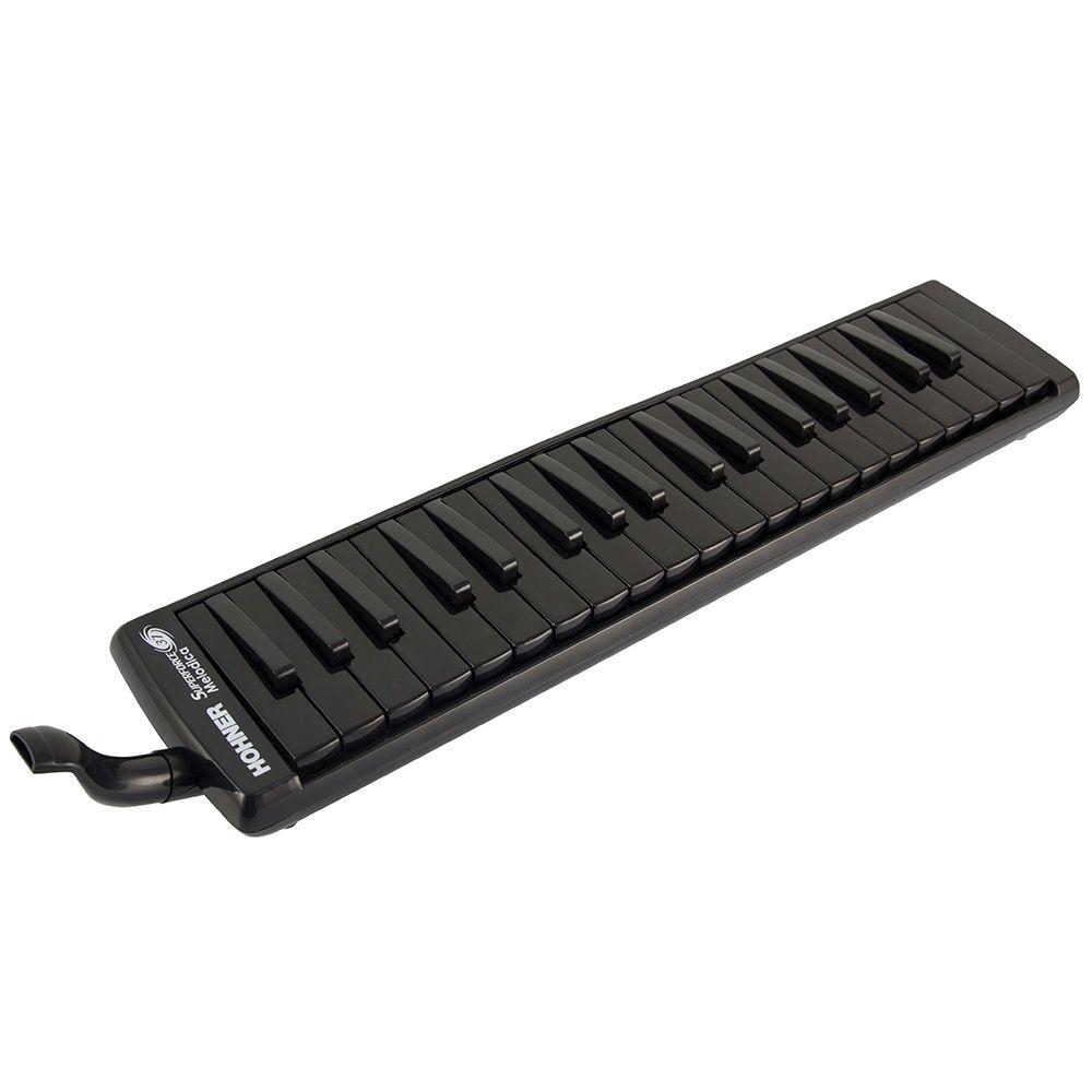 Escaleta Hohner Superforce 37 Melodica Black com Semi Case