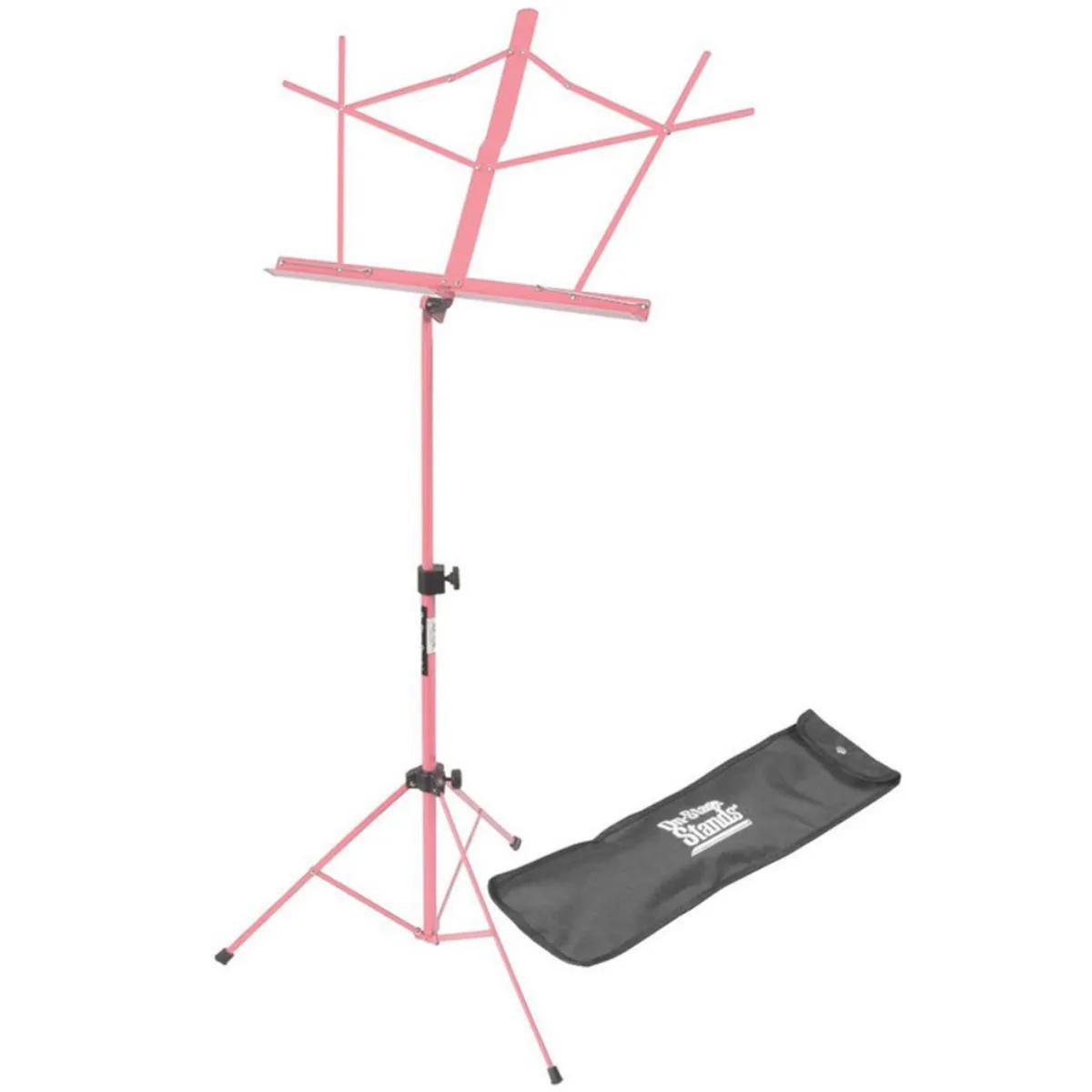 Estante de Partitura On-Stage Stands SM7122 Rosa com Bag