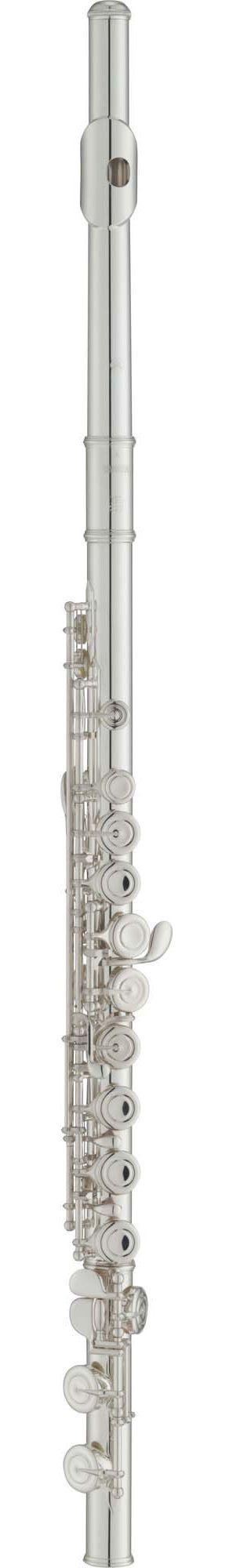 Flauta Transversal Soprano Yamaha YFL212 C Prata com Case