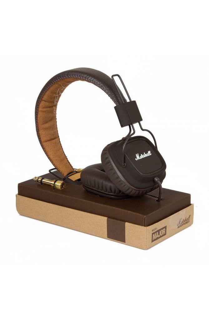 Fone de Ouvido Marshall Major On-Ear Brown