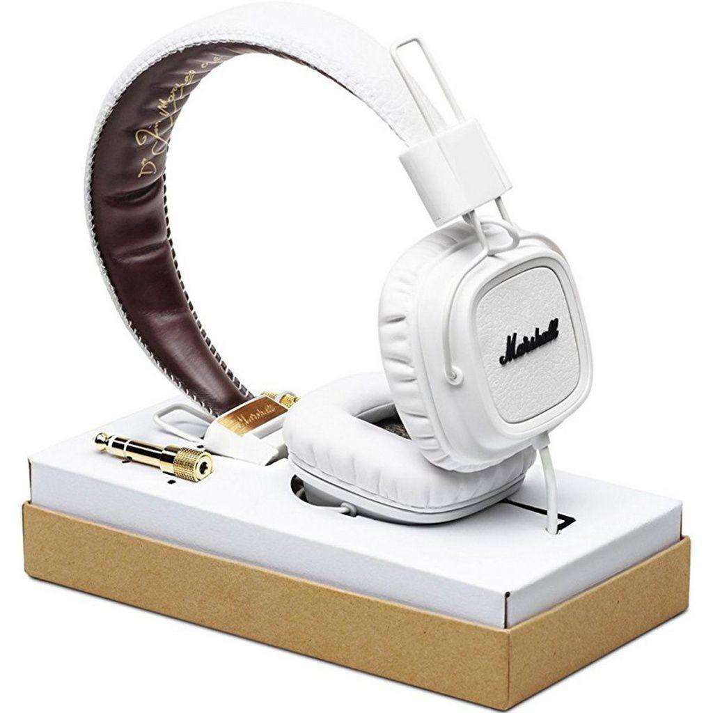 Fone de Ouvido Marshall Major On-Ear White