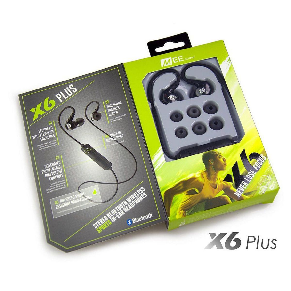 Fone De Ouvido Mee Audio X6 Plus Stereo Bluetooth Sports