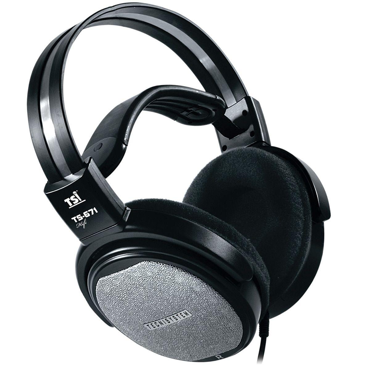 Fone de Ouvido TSI HF671 Over-Ear