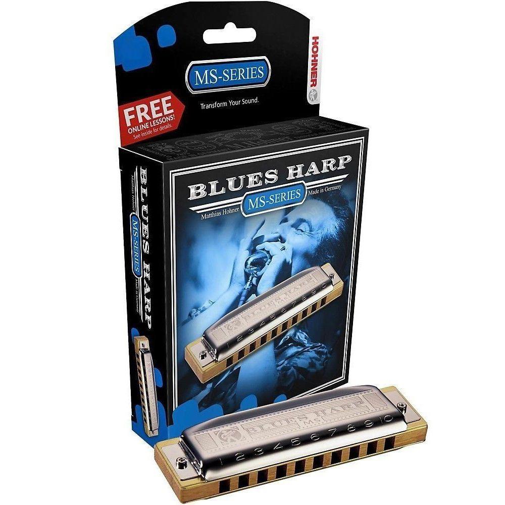 Gaita Diatônica Hohner Blues Harp 532/20 E (Mi)