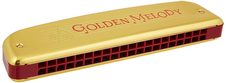 Gaita Diatônica Hohner Golden Melody 2416/40 - C