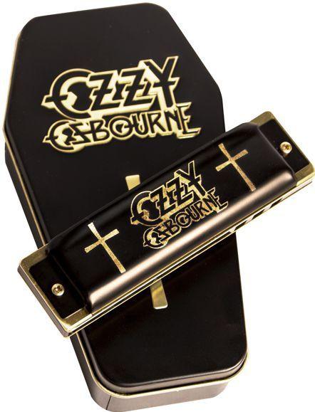 Gaita Diatônica Hohner Signature Ozzy Osbourne M666 - C