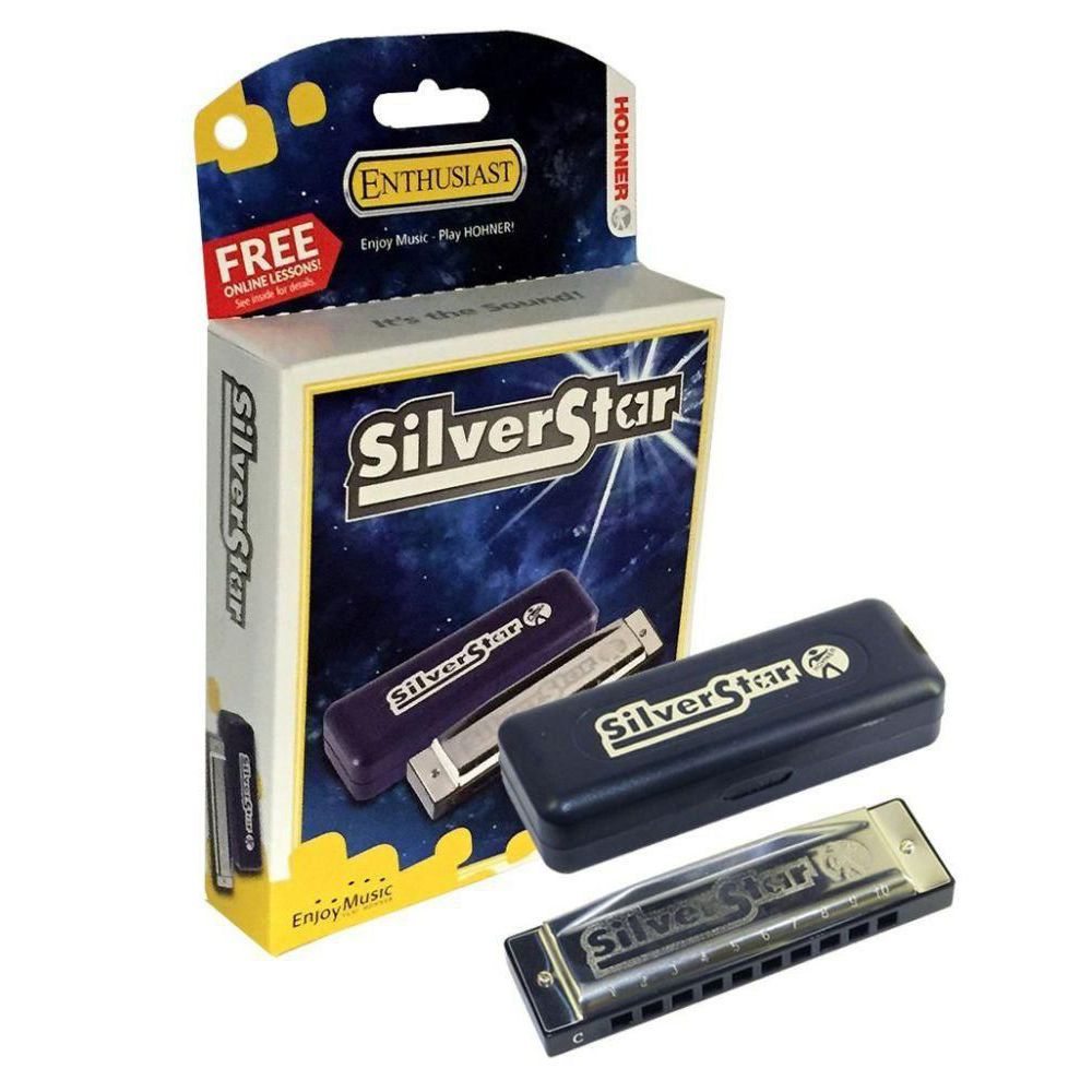 Gaita Diatônica Hohner Silver Star 504/20 A (Lá)