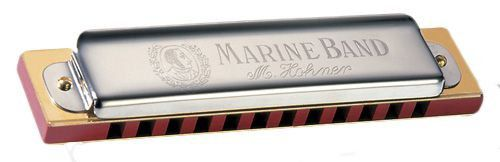 Gaita Hohner Diatônica Marine Band 364/24 - C