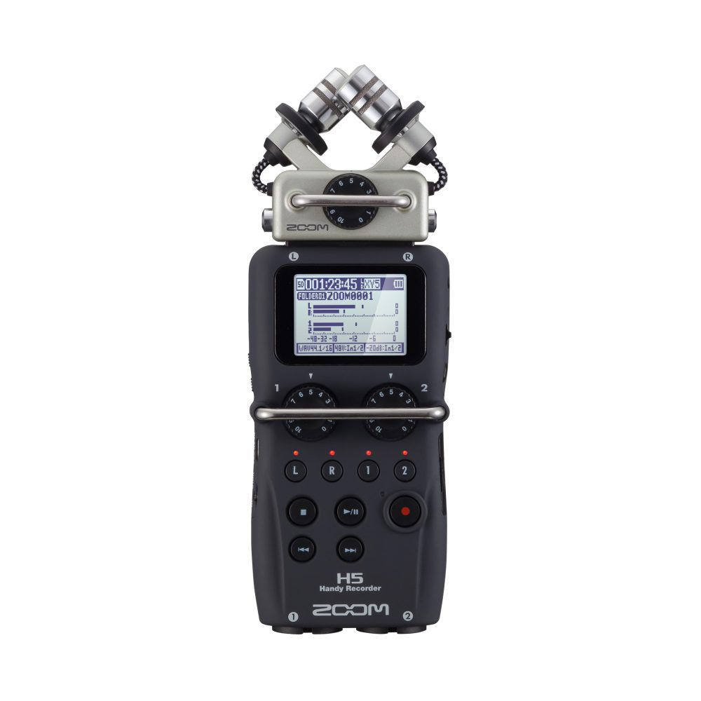 Gravador Digital Portátil Zoom H5 Handy Recorder