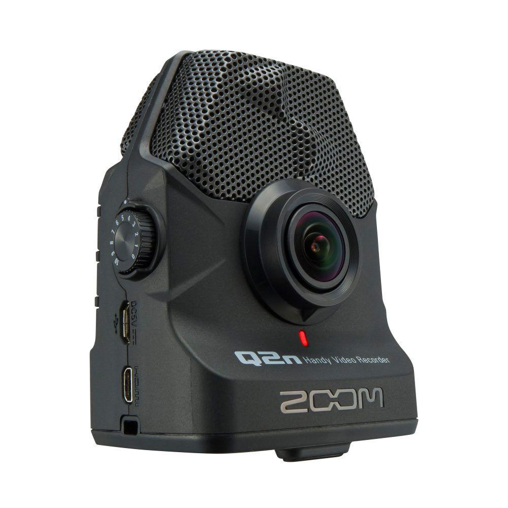 Gravador Digital Portátil Zoom Q2n Handy Video Recorder
