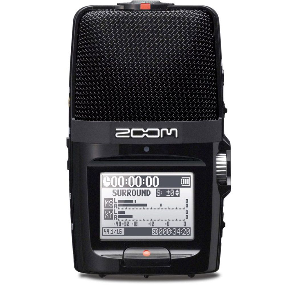 Gravador Digital Zoom H2n Handy Recorder de Áudio