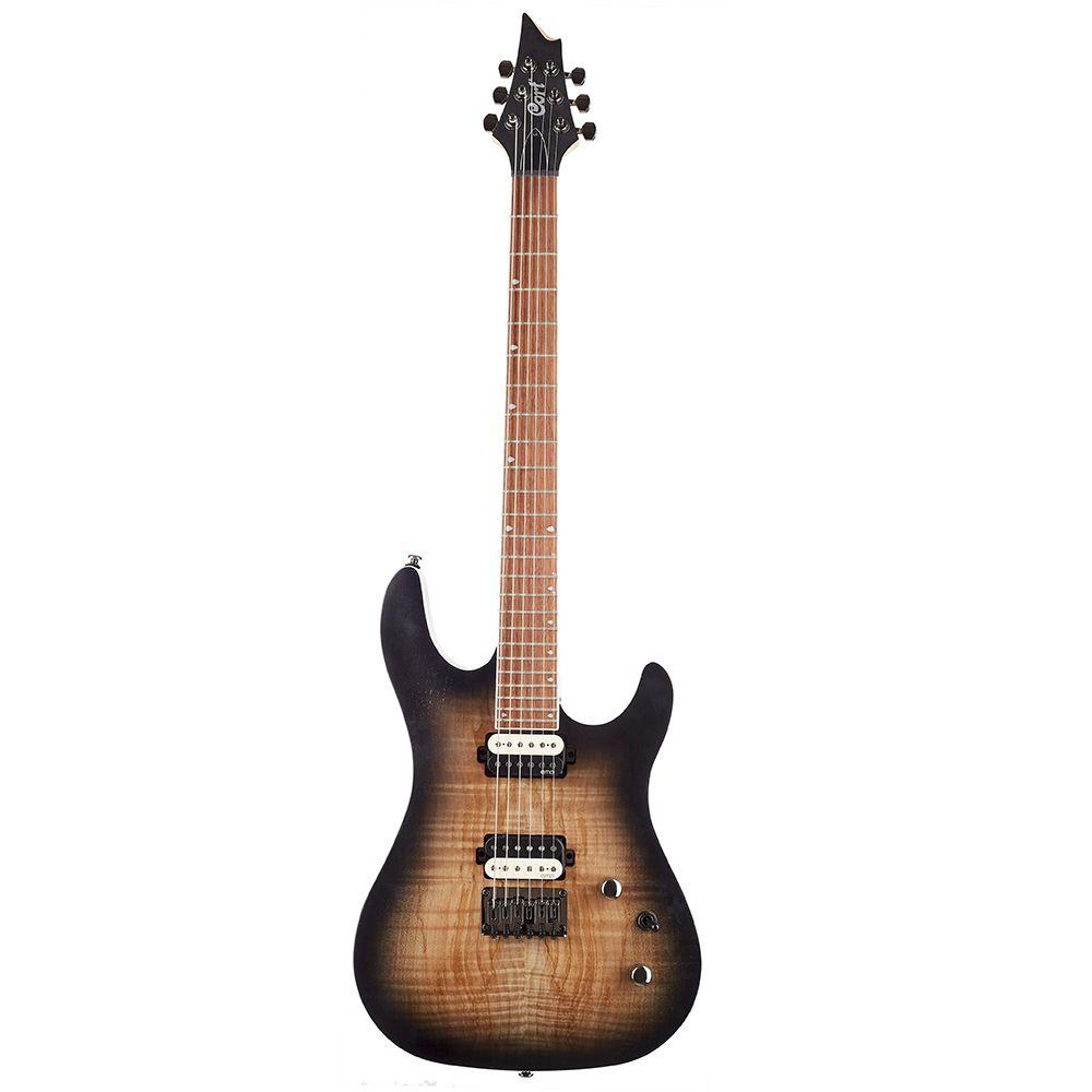 Guitarra Cort KX-300 OPRB EMG Open Pore Raw Burst