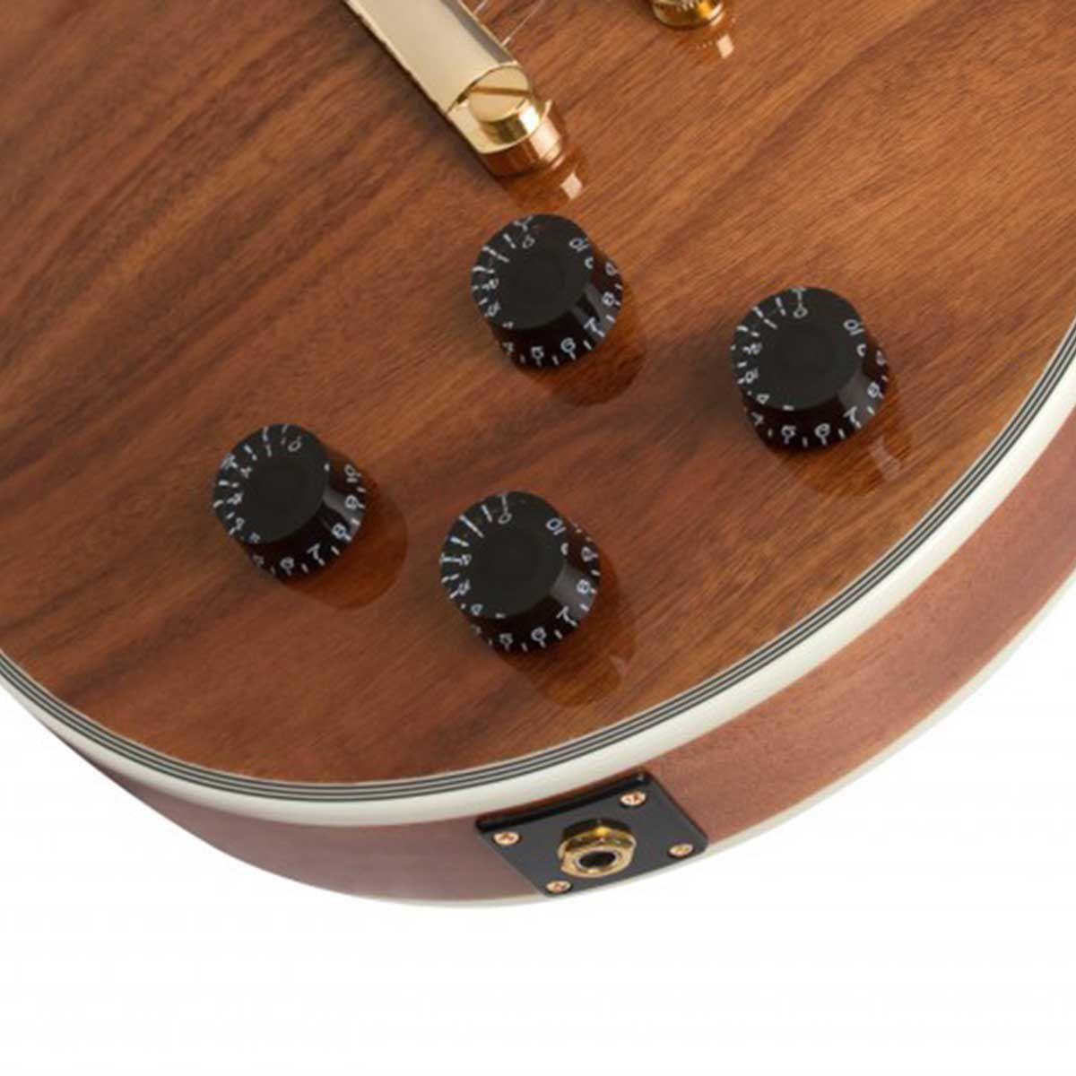 Guitarra Epiphone Les Paul Custom Pro KOA Natural
