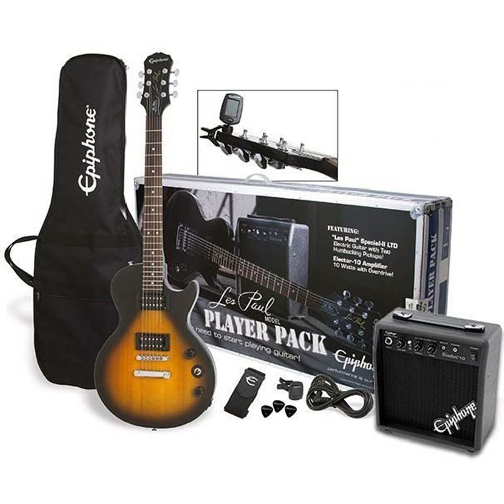 Guitarra Epiphone Les Paul Special II Kit Player Pack VSB