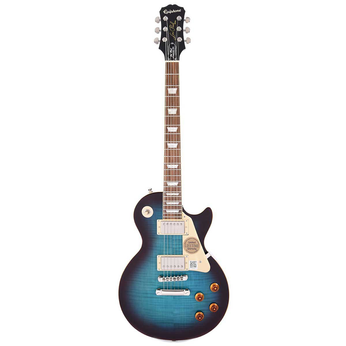 Guitarra Epiphone Les Paul Standard Plus Top Pro Bluberry