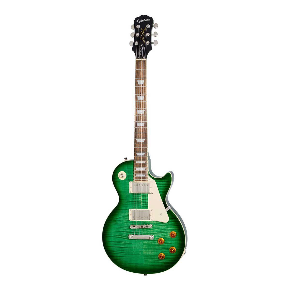 Guitarra Epiphone Les Paul Standard Plus Top Pro Green Burst