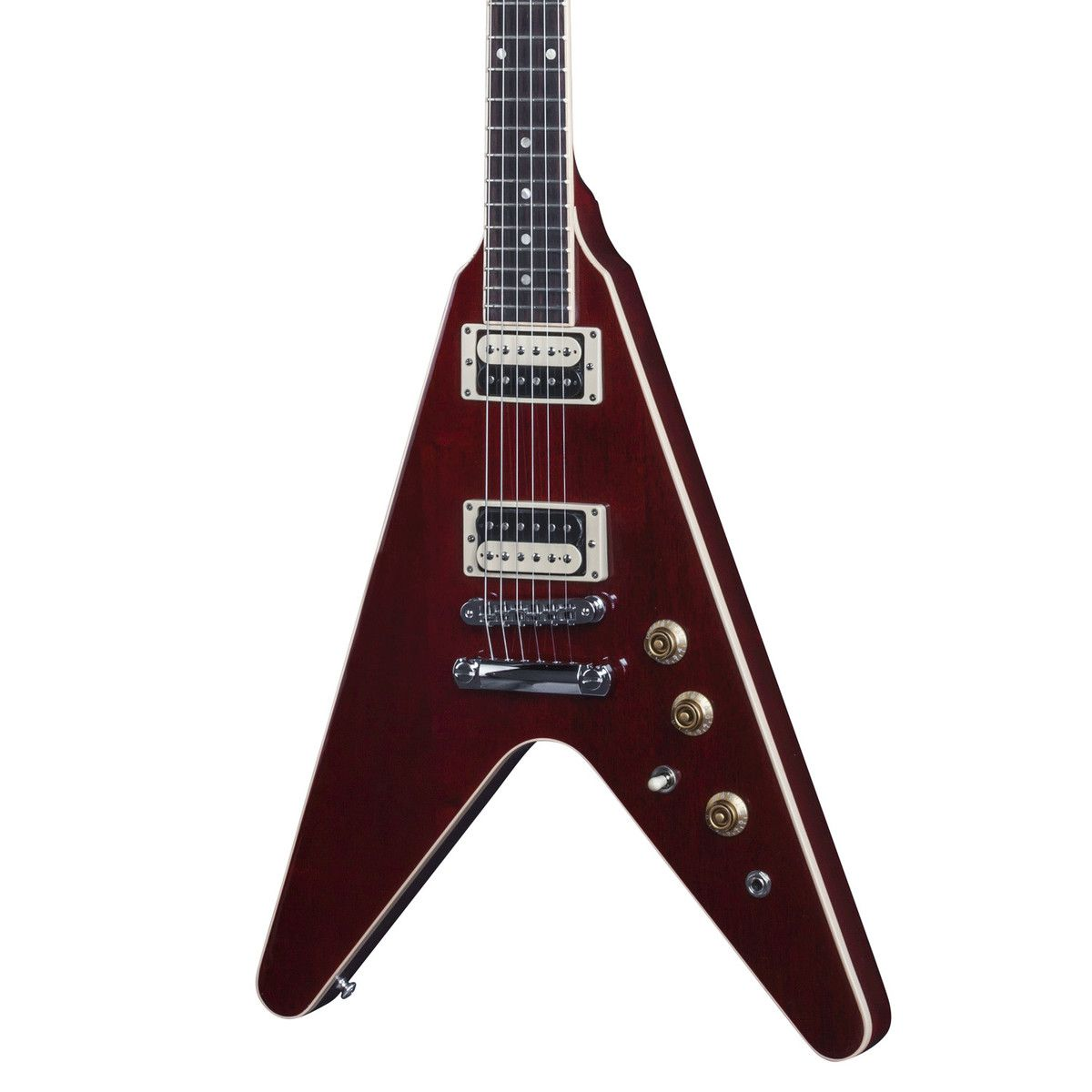 Guitarra Gibson Flying V Pro 2016 T Wine Red com Bag