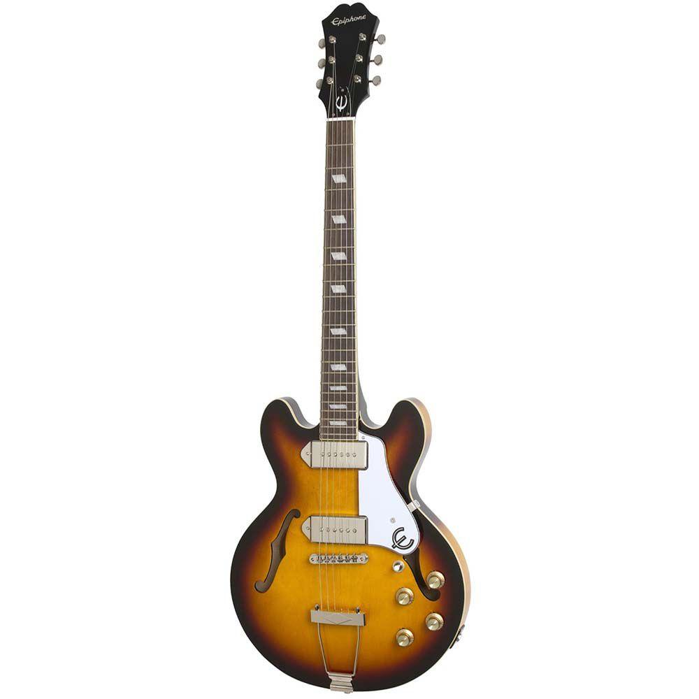 Guitarra Semi-Acústica Epiphone Casino Coupe Sunburst