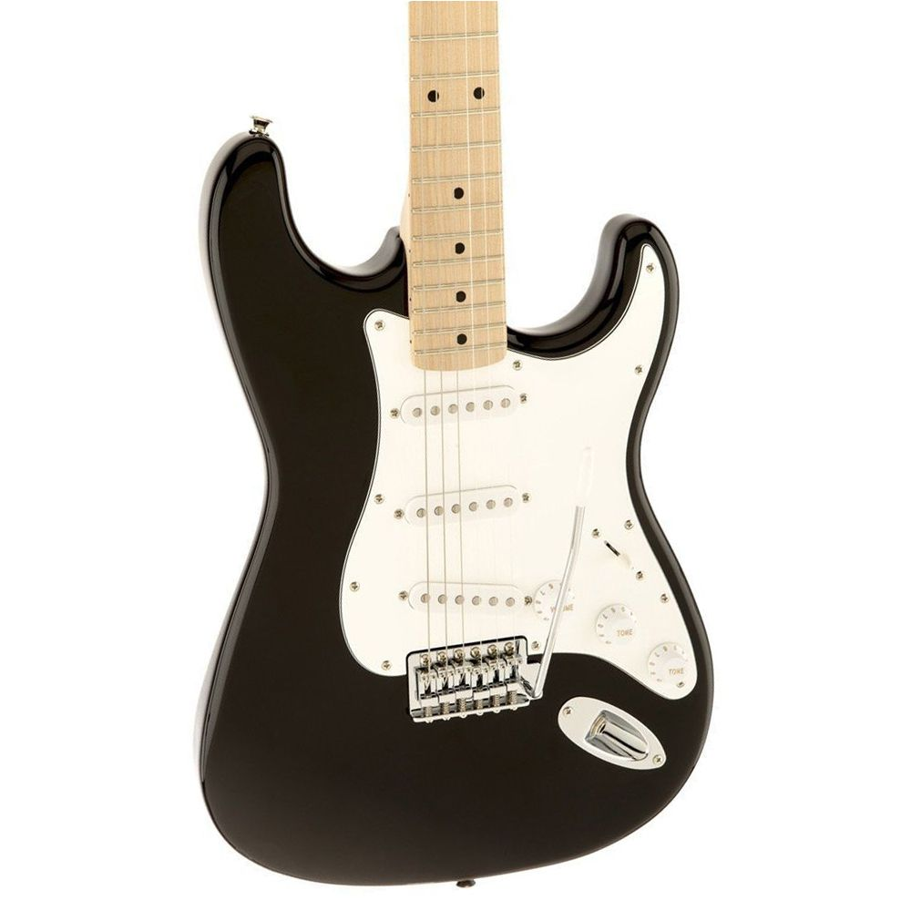 Guitarra Stratocaster Fender Squier Affinity Strat Black