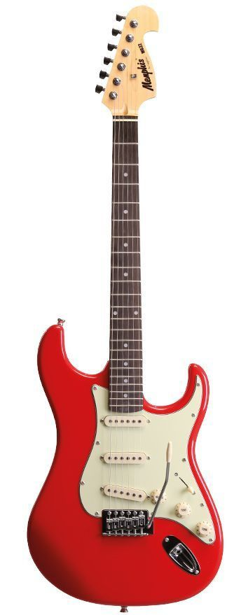 Guitarra Stratocaster Tagima Memphis Mg 32 Fiesta Red