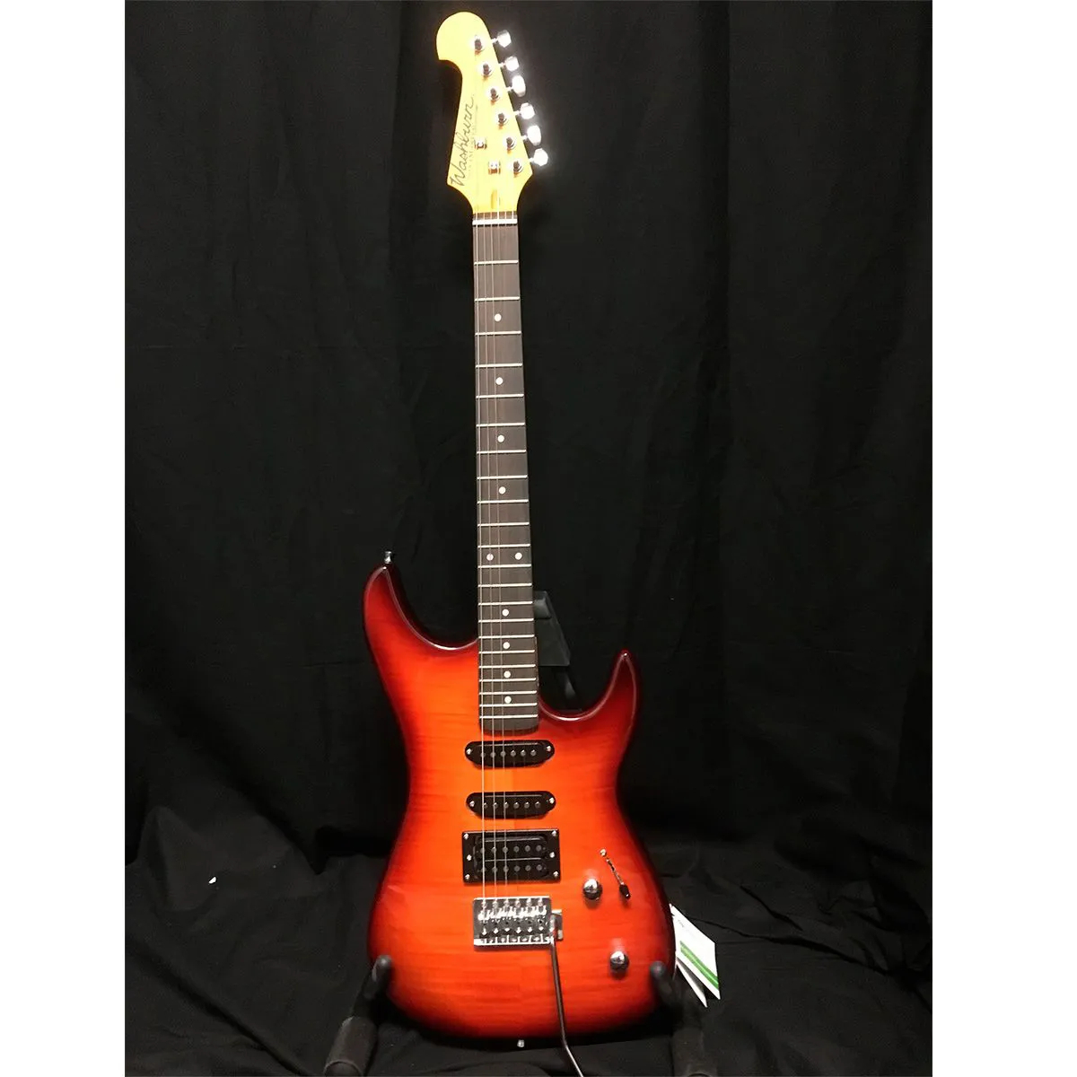 Guitarra Washburn S3HXRS Sonamaster Red Flame Sunburst