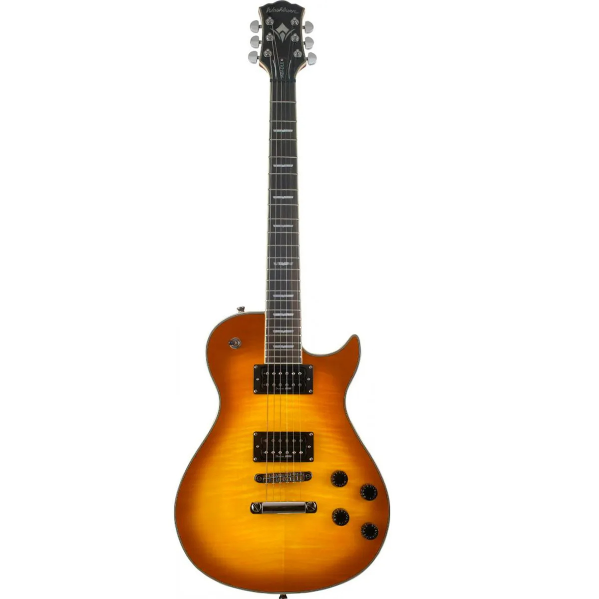 Guitarra Washburn WIN DLX Deluxe Flame Tobacco Sunburst