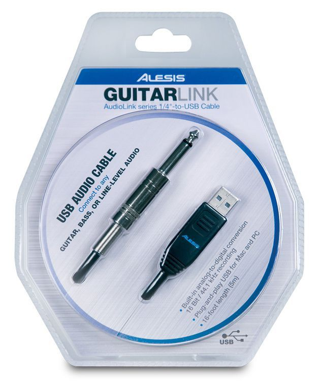 Inteface de Áudio Alesis Guitar Link USB