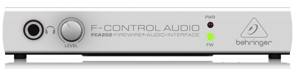 Interface de Áudio Behringer F-Control FCA202 USB