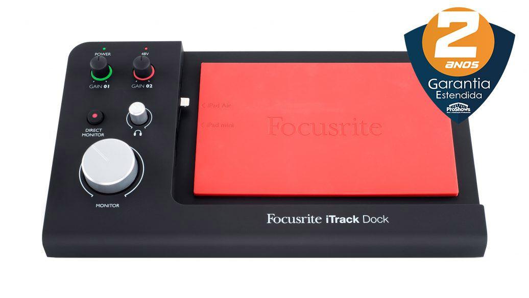 Interface de Áudio Focusrite iTrack Dock iOS