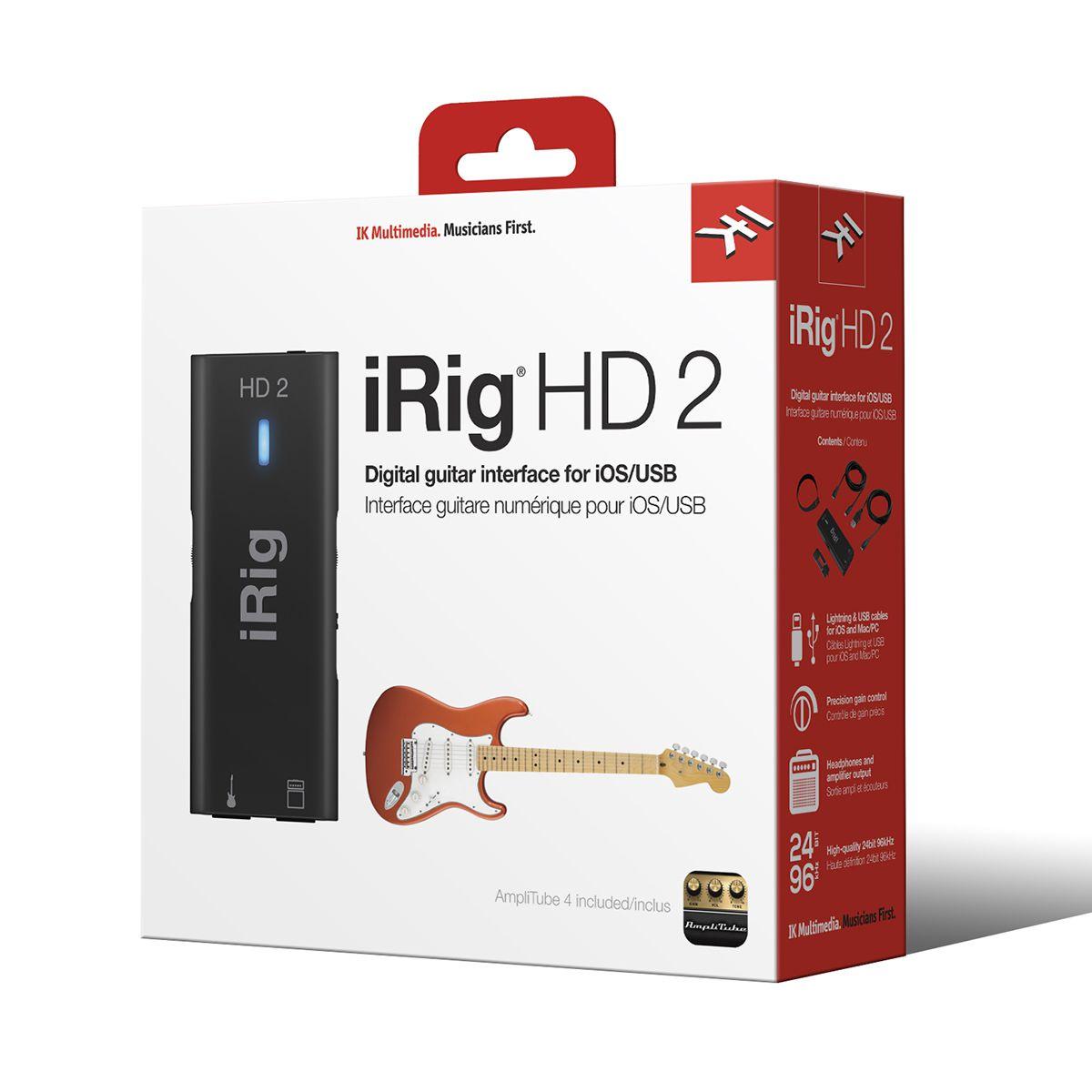 Interface de Áudio IK Multimedia iRig Hd 2
