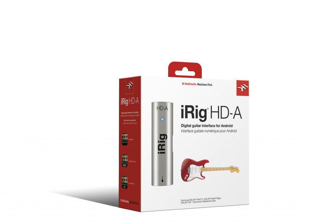 Interface de Áudio IK Multimedia iRig HD A para Android