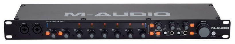 Interface de Áudio M-Audio M-Track Eight