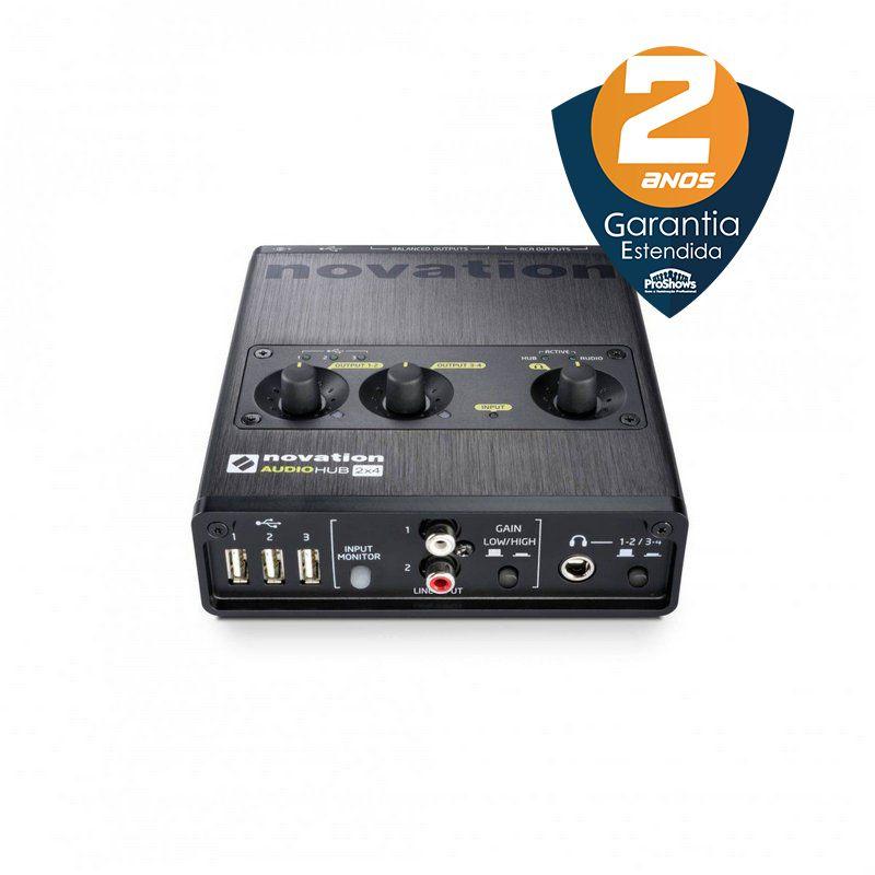 Interface de Áudio Novation Audiohub 2x4