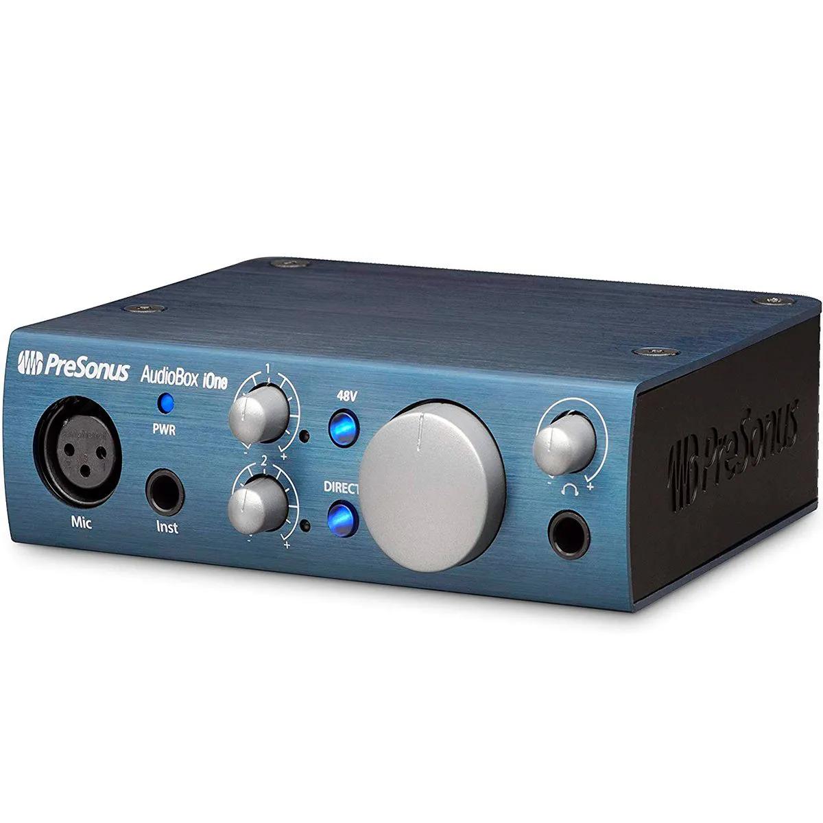 Interface de Áudio PreSonus Audiobox iOne USB